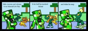 Let's Play Minecraft - Part 1 by StrangeAsFiction