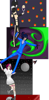 .:COLLAB:DONE:. Anime freak by doris4u