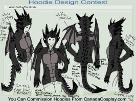 Want this Thorn dragon hoodie by ThoronWild