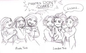 Pirates don't share by terrabm