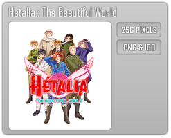 Hetalia : The Beautiful World Folder Icon by Aven-23