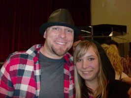 Jake hamilton and me by SugarNspices
