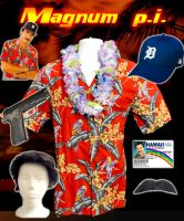 Magnum P.I. Costume 2 by ritter99