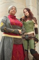 Two Religions by PinkJusticeCosplay