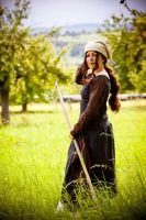 Robin Hood cosplay - Lady Marianne by haricovert-cosplay