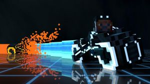 Troncraft Lightbike Battle 2 by KayKove