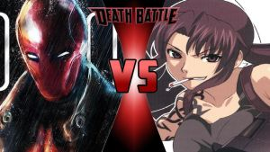 Red Hood vs. Revy by OmnicidalClown1992