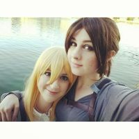 ymir and christa by silkybean