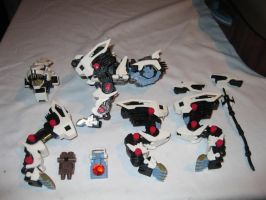 Building of My New Zoid 4 by MidnightLiger0