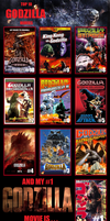 Top 10 GODZILLA Movies by nerdsman567