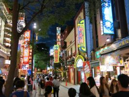 Yokohama Chinatown at Night by g-hennux