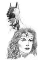 Bruce and Diana by jeffbanner