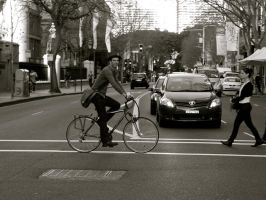 Cyclist. by Geoperno
