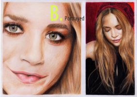 Mary Kate Olsen by B-Portrayed