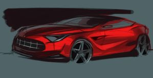 Ferrari sketch FCD94 by FCD94