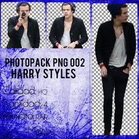 Photopack png 002. Harry Styles by Manuuselena