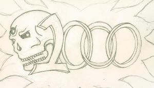 1000 veiws 'Preview' by lokiofflames