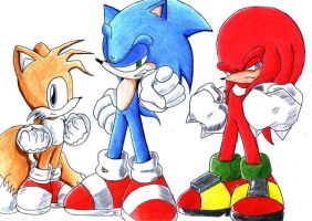 Team Sonic Wants You... by ichizack