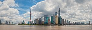 Pudong by day by dragonslayero