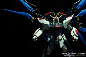 Strike Freedom Gundam FBM 03 by portpolyonamo1979