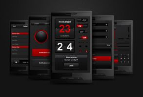 Complete Mobile Interface by erigongraphics