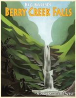 Berry Creek Falls by betsybauer