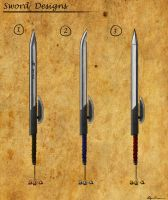 Sword Concepts by Wraeclast