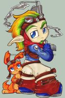 Jak 2 Birthday gift by KeyshaKitty