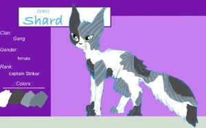Shard TcotV :::ref sheet: by TheClansOf-TheValley