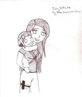 Mother and Daughter by chachi411
