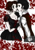 +Sweeney Todd and Mrs. Lovett+ by Aerithflowergirl5678