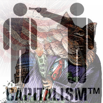Capitalism: kill to live. by Jakosi
