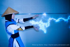 Raiden - Lightning Bolt by Karim-sama