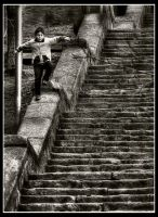 Why Use Stairs? by PortraitOfaLife