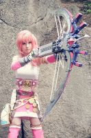 Serah Farron FF13-2 cosplay by MiyuDoLLy
