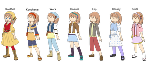 Harvest Moon: Tale Of Two Towns OC - Ruby by IgnisSorceressFA