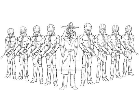 Soloman and M3 Soldiers II by Nes44Nes