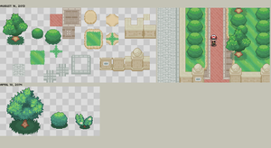 Pokemon XY tiles by Drabber96