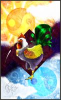 Chinese Zodiac - Rooster by carnivalcat