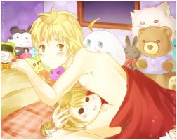 APH : The Night with Mochi by RuminE