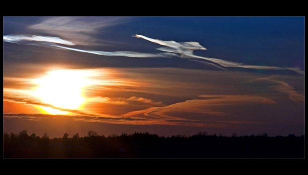 Scrambled Sunset by RS-foto