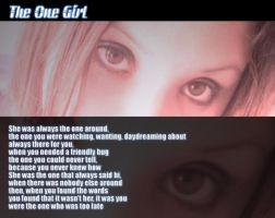 The One Girl by cyraxeon