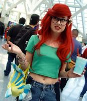 Hipster Ariel lives by TheRealLittleMermaid