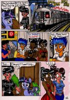 Twilight Sparkle and the Big City Page 62 by newyorkx3