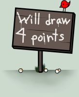 Will Draw 4 Points by CometKilljoy6661