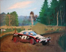 Lancia Stratos rally car by Starfighterace-421