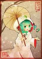 Miku's First Snow by Rainry