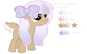 Sierra Reference Sheet by xXTuff-PegasisterXx