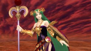 Palutena:  Medusa?  Almost. by AdmiralPit