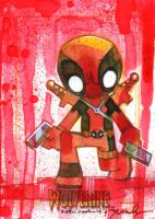Deadpool Cook+McHaley by markmchaley